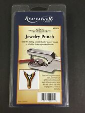 JEWELRY PUNCH ReaLeather Crafts Silver Creek Leather Co. Item #T3230