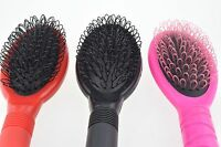 Hair Extension Fusion Loop Brush Silicone Micro Rings Nano Beads Pink Black