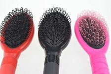Hair Extension Fusion Loop Brush Silicone Micro Rings Nano Beads Pink Black