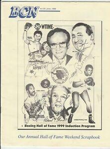 BOXING COLLECTORS NEWS KAOSAI GALAXY-EUSEBIO PEDROZA-JIMMY BIVINS #131 JUNE 1999