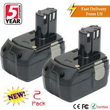 2X 18V 4.0AH Li-ion EBM1830 Battery For HITACHI BCL1815 BCL1830 BCL1840 BCL1850