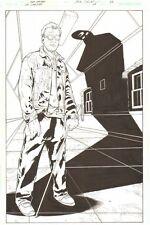 JSA: Classified #24 p.22 Dr. Mid-Nite III Shadow Splash 2007 art by Alex Sanchez Comic Art