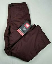 686 Agnes Insulated Snowboard Pants Youth Evolution Girls L infiDRY Black Ruby