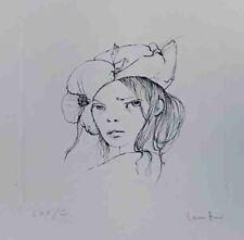 """LEONOR FINI """"Le Livre de Monelle"""" Original Etching S/N"""