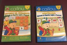 Spanish - English - French Caillou - Pre-Escolar 3 Cd's