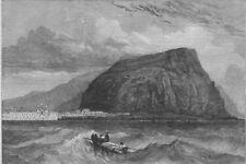 CHILE. Peru Earthquake 1868. Arica, in Peru, visited by the earthquake, 1868
