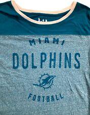 Miami Dolphins Maternity Touch by Alyssa Milano T-Shirt Sz. M