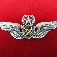 NASA US ARMY ASTRONAUT MASTER PILOTS WINGS BADGE MEDAL FOR SPACE MISSIONS