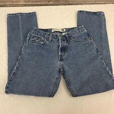 Gap Women's Boot Cut Denim Jeans Button Front Size 2 Regular hidden button fly