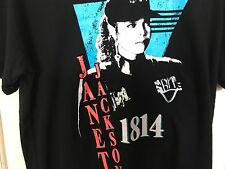 New Limited Edition Forever 21 Janet Jackson Rhythm Nation 1814 Tour T Shirt