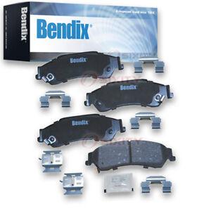 Bendix CFC729 Premium Copper Free Ceramic Brake Pads - Pair Left Right Pad pi