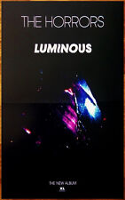 THE HORRORS Luminous Ltd Ed Discontinued RARE Poster+FREE Rock/Goth/Indie Poster