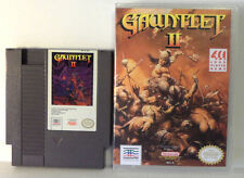 Gauntlet II with Plastic Case - NES Nintendo - Tested