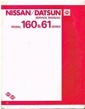 NISSAN PATROL 160 SERIES 2.8 4.0 PETROL 3.2 DIESEL 1980- FACTORY WORKSHOP MANUAL