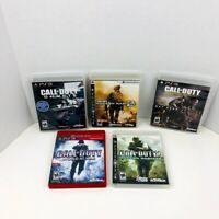 Call Of Duty Ghosts Modern Warfare 2 4 Day Zero World At War PlayStation 3 Lot 5
