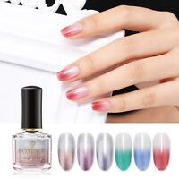 BORN PRETTY 6ml Thermal Color Changing Nail Polish Peel Off Nail Art Water Based