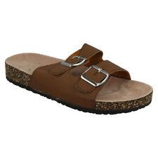 Women's Synthetic Buckle Sandals & Flip Flops
