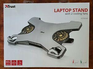 BASE DI RAFFREDDAMENTO PER PC LAPTOP - TRUST - 2 VENTOLE - USB