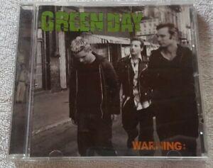 Green Day Warning CD