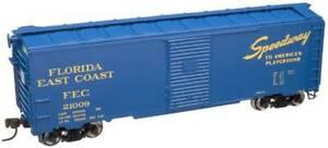 ATLAS 21000006 HO TRAINMAN '37 AAR BOX CAR KIT FLORIDA EAST COAST 21009