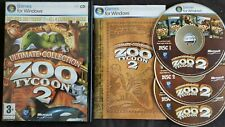 Zoo Tycoon 2: Ultimate Collection Includes All 4 Expansion Packs For Windows VGC