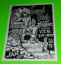 Rare Sacred Reich Concert Flyer in great shape! Must See! Free Shipping!!