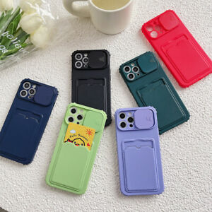 Case For iPhone 12 11 Pro Max XS X XR 8 7 6s Plus SE 2 Card Holder Wallet Cover
