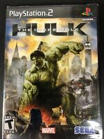 Sony Playstation 2 PS2 - Incredible Hulk - Brand New Sealed - Black Label - Mint