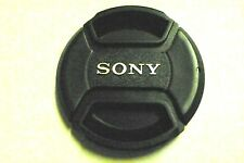 77mm Snap on Center Pinch Lens Cap Dust Cover Protector For Sony New