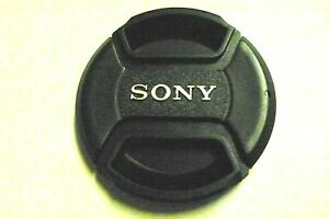 40.5 mm Snap on Center Pinch Lens Cap Dust Cover Protector For Sony New
