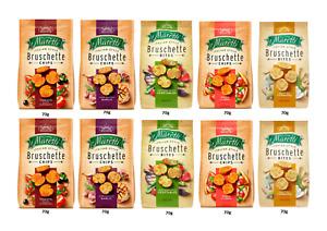 Maretti Bruschette Assorted Pack of 10 X 70g