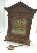 Vintage Wooden Encased DRGM Clock