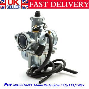 For Mikuni Pit Dirt Bike VM 26mm (22mm inner) Carburettor Carb 110/125/140cc UK
