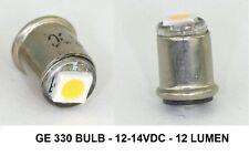 GE330 - GE  330 -  LED version - 12 LUMEN - High Output - Mini Bayonet 12-14VDC