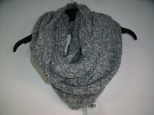 Hollister Chunky Knit Infinity Scarf Grey No Size rrp £19 DH191 FF 06