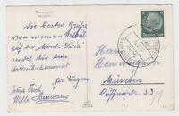 """Schiffspost - Deutsche Schiffspost """"Kraft durch Freude"""" MS Monte Olivia, 14.6.37"""