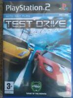 Test Drive Unlimited Sony PlayStation 2 2007 Atari PS2 Motorsports 54466G
