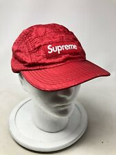 Supreme Hat Adjustable Red Biking Vented Nylon Athletic Hat Men's