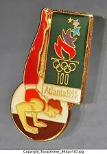 OLYMPIC PINS 1996 ATLANTA GYMNASTICS OFFICIAL GOLD COLLECTIBLE SUMMER GAMES