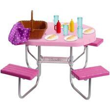 Mattel Spielset Barbie Möbel Outdoor Picknicktisch OVP