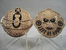 EOD Explosive Ordnance Disposal Unit Left of Boom Bomb Challenge Coin Navy Army