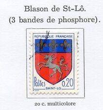 STAMP / TIMBRE FRANCE OBLITERE N° 1510C BLASON SAINT MALO