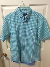 VINEYARD VINES Men's Classic Fit Tucker Shirt Gingham Green NWOT Size Small S