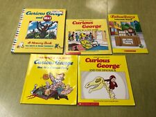 New ListingLot of 5 Curious George Books, Ar, Early Reading