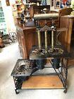 Antique Patent 1880 G.M. Clark & Co. Vapor Stove / Range JEWEL NO. 854B