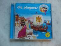 Playmos 5 CD von Simon X. Rost (2008) Gefahr für Rom Playmobil Hörspiel