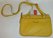 Relic Mustard Yellow Crossbody Style Purse Small ~ Jenny Zip Adjustable Strap