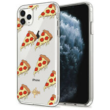 Custodia Cover Morbida INKOVER per iPhone Fast Food 4 Art Pizza Good Italia Cibo