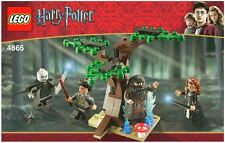 LEGO HARRY POTTER 'THE FORBIDDEN FOREST' #4865 4 FIGURES 100% COMPLETE GUARANTEE