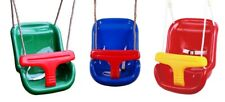 Baby Garden Swing Seat with safety T bar in Plastic CE Certified by HIKS®